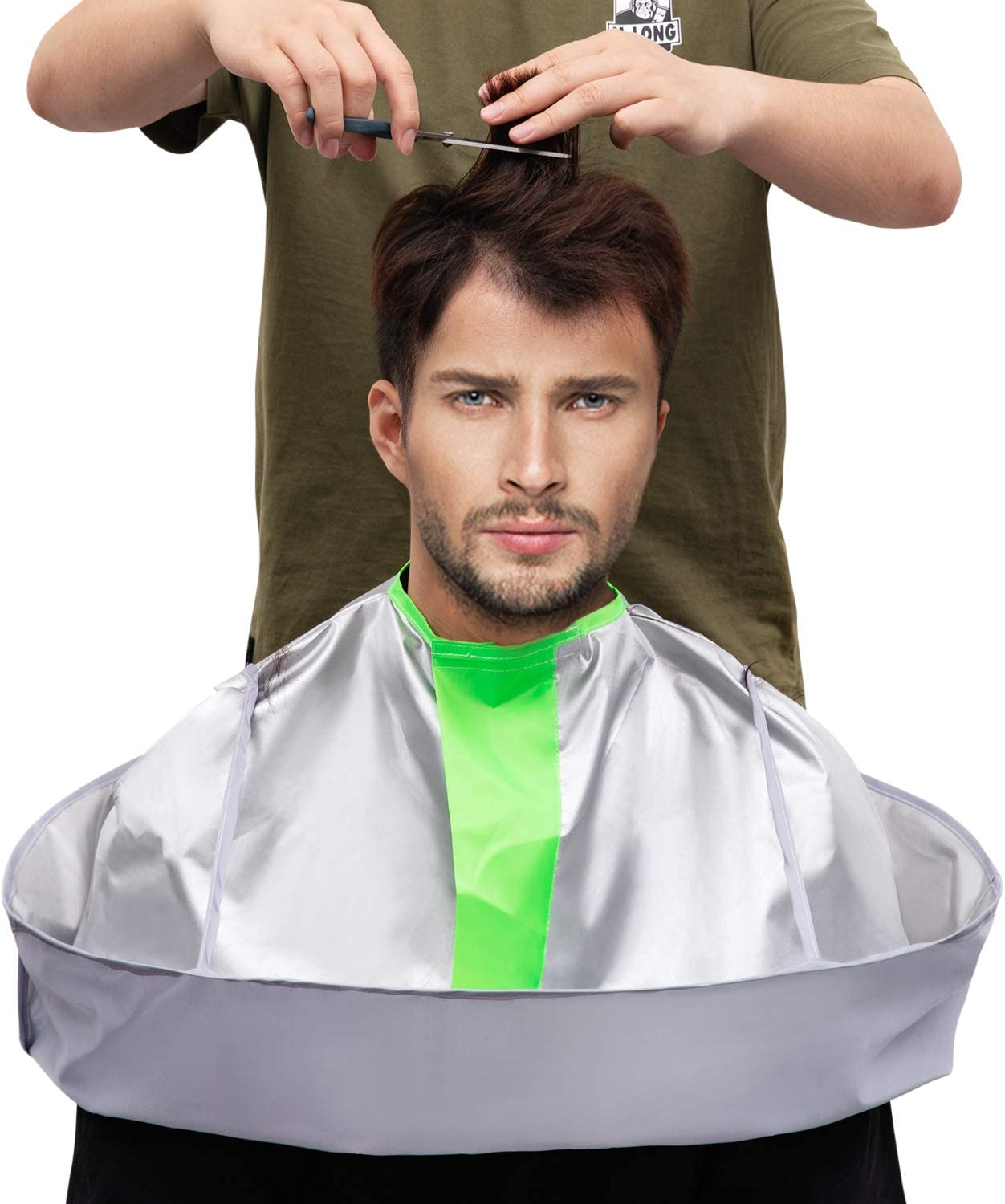 Hair Cutting Capes for Adult/Kids Umbrella Design Barber Salon Cape Keep Hair Off Clothes and Floor: Health & Personal Care
