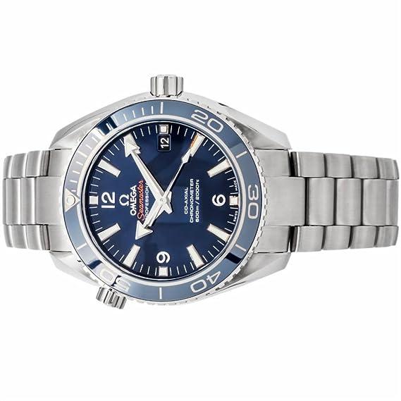 Omega Seamaster Planeta Océano automatic-self-wind Mens Reloj 232.90.42.21.03.001 (Certificado) de segunda mano: Omega: Amazon.es: Relojes