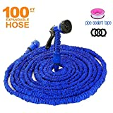 Garden Hose 100 FT Water Hose with Double Review and Comparison