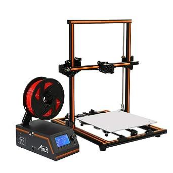 Impresora 3D, 300 W, impresora de escritorio 3D, kit DIY con eje Z ...