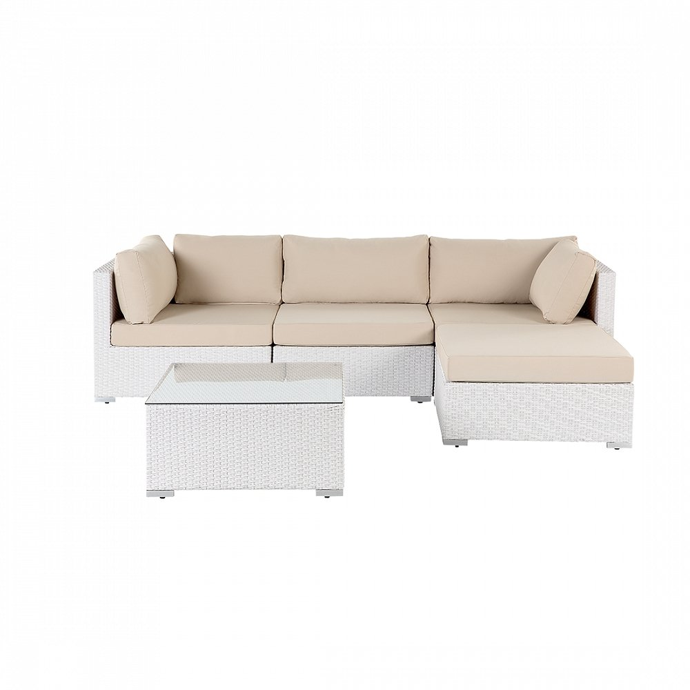 gartenm bel weiss rattanm bel polyrattan lounge gartensofa sano bestellen. Black Bedroom Furniture Sets. Home Design Ideas