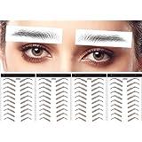 DAGEDA Brown 40 Pairs 4 PC 4D Eyebrow Transfers Stickers, Long Lasting Natural Waterproof Bionic Eyebrow Water Transfer…