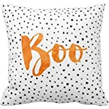 Buy or buy Chic Boo Halloween Dotted 18x18Inch pillow Case