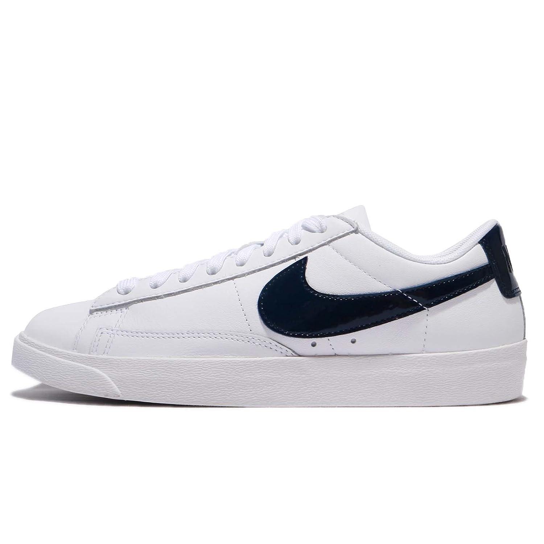 Nike W Blazer Low Le, Zapatillas de Deporte para Mujer 42 EU|White-obsidian-white (Aa3961-107)