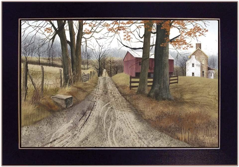 Trendy Decor4U The Road Home by Billy Jacobs Printed Wall Art Wood Multi-Color