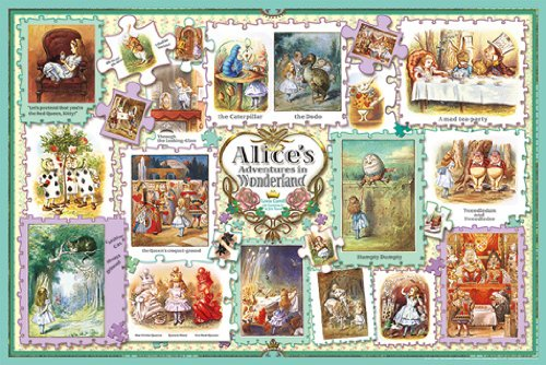 Tenniel Alice collection 1000-654 country 1000 piece wonder (japan import) by appleone