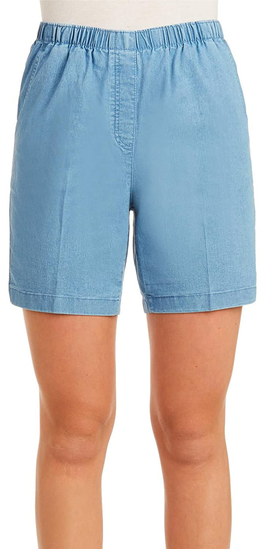 Petite Pull On Denim Short Nygard 5R08H219