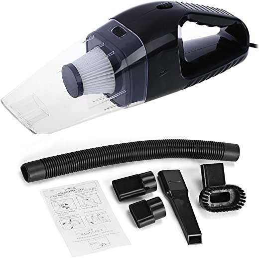 Coche aspiradoras, portable Handheld coche vacío polvo limpiador ...
