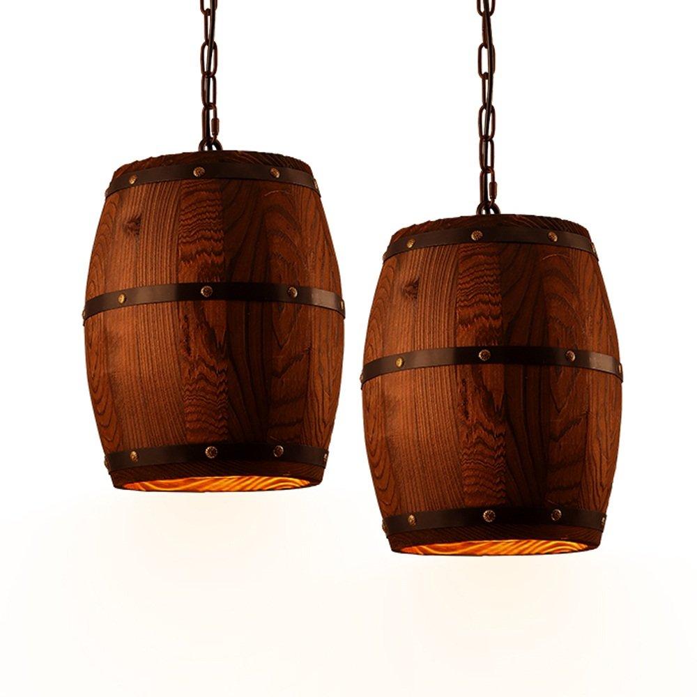 Amazon.com: Ganeep Country - Lámpara colgante de madera con ...