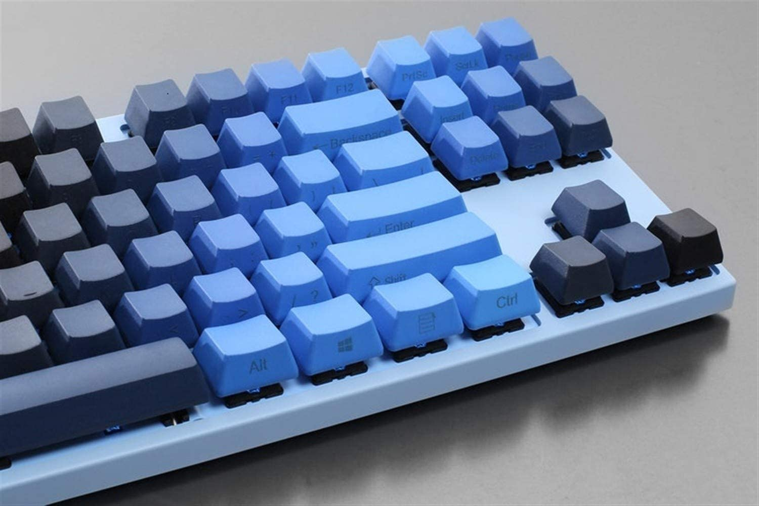 Color : Side Engraved Man-hj Keyboard keycaps PBT DYE-SUBBED 104 KEYCAPS Set Profile Thick PBT Compatible with Switches and Related Clones
