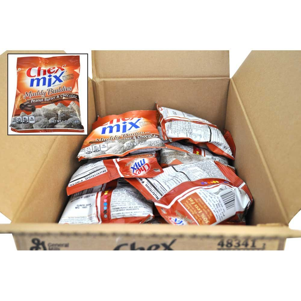 Chex Mix Peanut Butter Chocolate Muddy Buddies, 1.75 Ounce -- 60 per case.