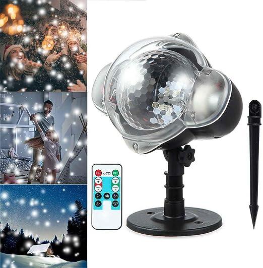 Luz de Proyector LED, Luz de Vacaciones y Linterna de Mano, con ...