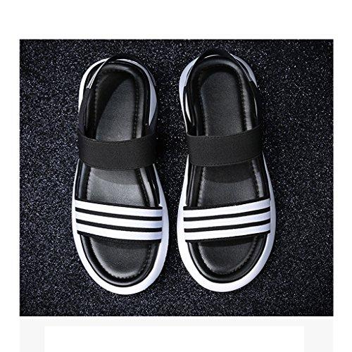 Taille Confortable Chaussures 6 Femme 0 Léger Chaussons Et Femme Sandales Été Mode Bqww01zp