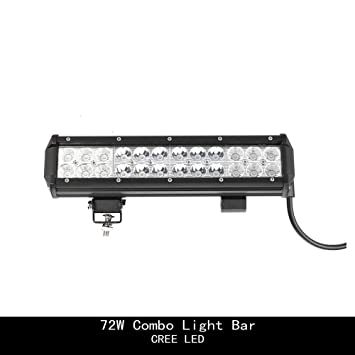 Amazon topcarlight 12 inch 72w cree led light bar 24 piece topcarlight 12 inch 72w cree led light bar 24 piece aloadofball Gallery