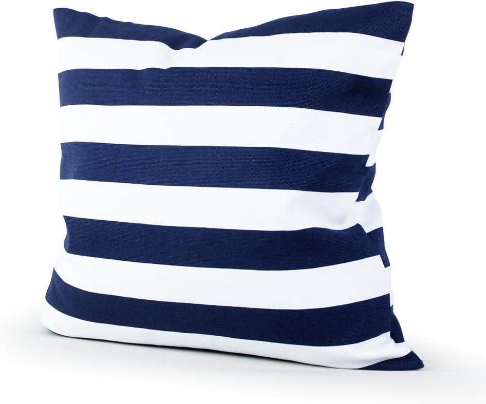 Lavievert Decorative Canvas Square Throw Pillow Cover