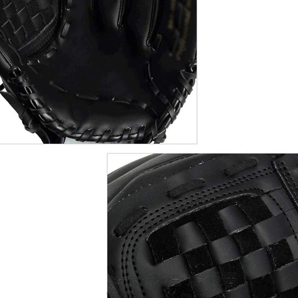 Mitones 12,5in Tama/ño Color: Negro Adultos y Tallas Juveniles F/ácil Rotura en el B/éisbol Mitt Right Hand Throw OhLt-j Los Guantes de b/éisbol Guante de softbol