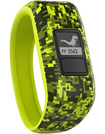Garmin Vivofit Jr. Daily Activity Tracker for Kids - Digi Camo (Green)