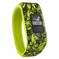 Garmin 010-01634-21 Vivofit Jr. Motivator and Activity Tracker, Green (Digi Camo)