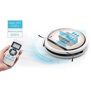 Amazon.com: ILIFE V5 Pro Intelligent Robotic Vacuum Cleaner - ROSE ...
