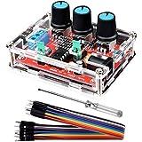 Kuman 信号発生器 XR2206 セット ファンクション信号発生器 高精度 正弦/三角/正方形 信号発生器+手作ドライバー+10ピン 出力1Hz〜1MHz 周波数振幅調整可能 K76