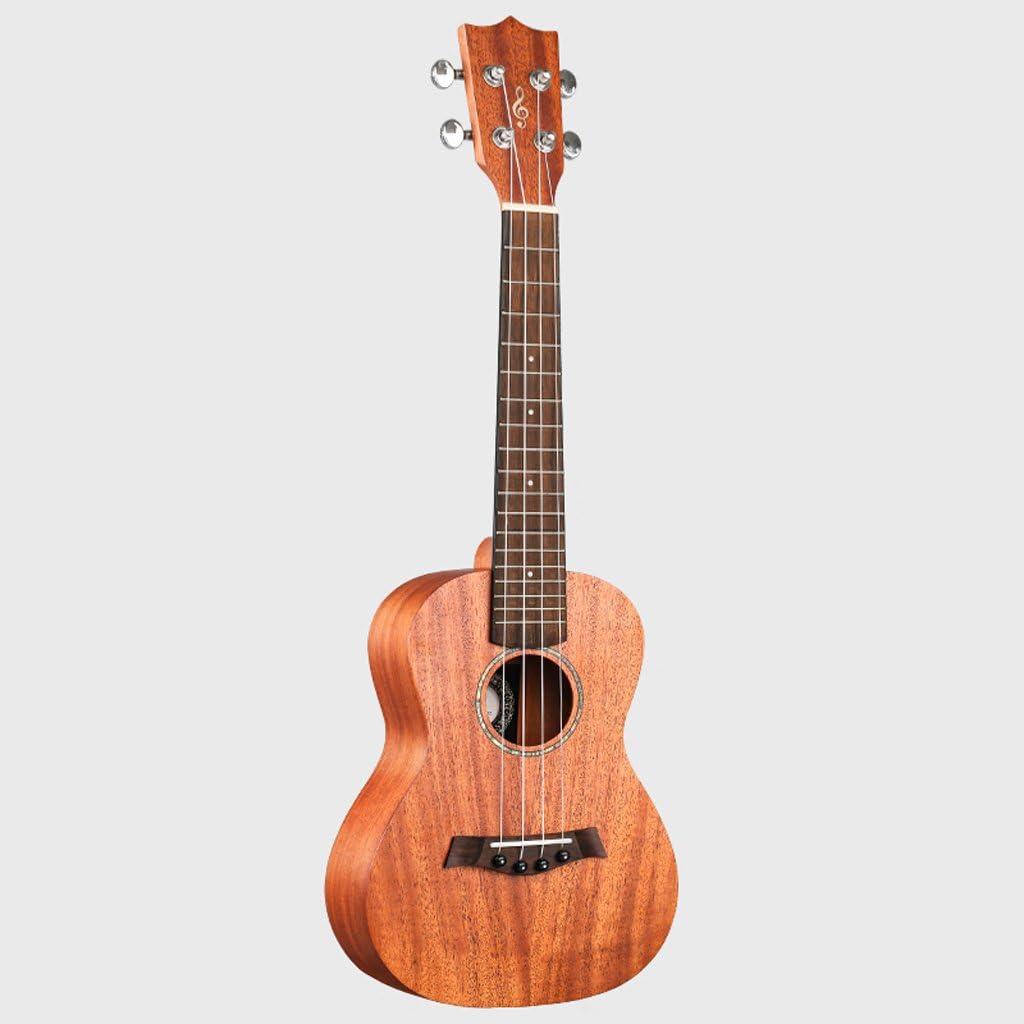 LINGZHIGAN Fideos de caoba de 34 pulgadas Guitarra pequeña de ...