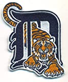 """Detroit Tigers Logo Baseball MLB Embroidered Iron On Patches Hat Jersey 2 3/4 x 3 1/2"""""""