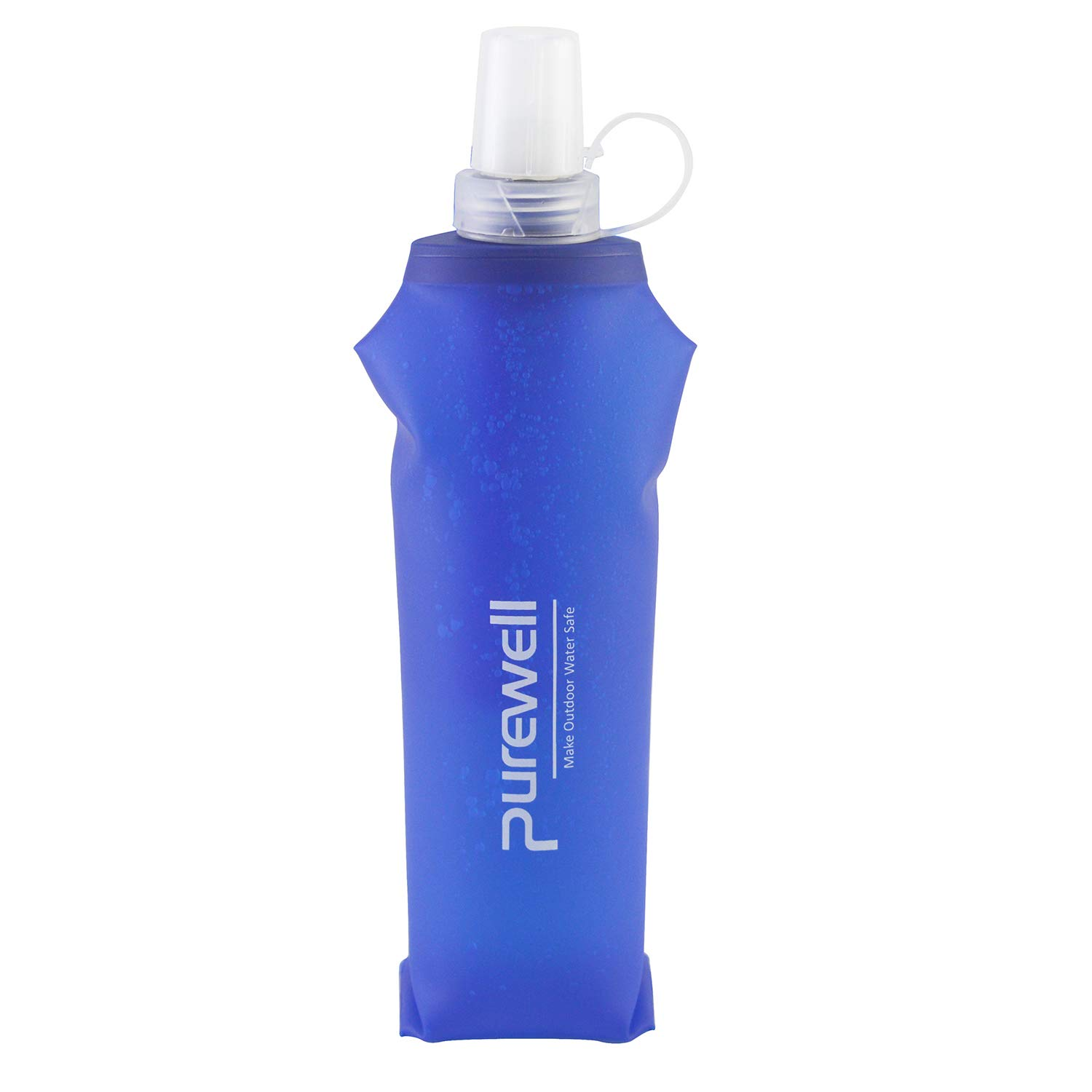 6dea46ca80 Amazon.com : Purewell Soft TPU Collapsible Water Filter Container BPA Free  Outdoor Filtered Water Bag for Sport Camping and Hiking - Blue : Sports &  ...