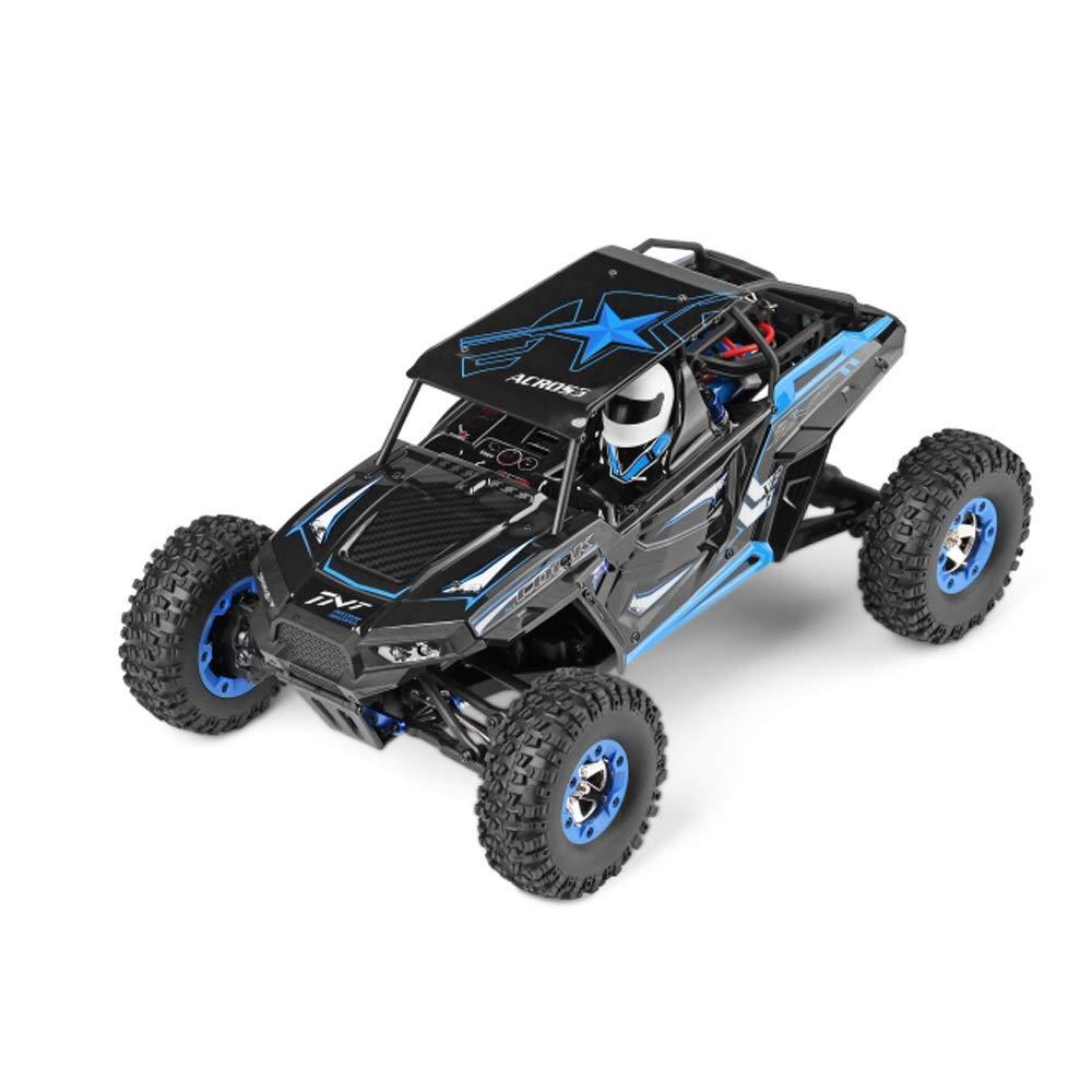 liquidación hasta el 70% azul azul azul 1-Battery Pinjeer 3 Estilo Optioanl de Alta Velocidad con tracción en Las Cuatro Ruedas Coche de Escalada 50 km h Competencia Profesional 1 12 Control Remoto Modelo de Coche Regalos para niños 12+  ganancia cero
