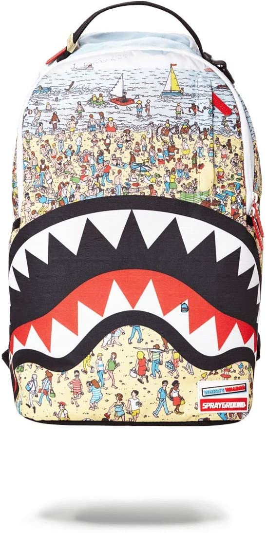 SPRAYGROUND BACKPACK WHERE THE #$%& IS WALDO?