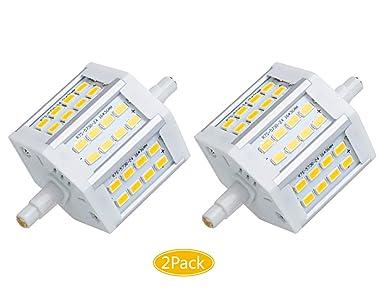 ctkcom R7S bombilla LED de 7 W, 78 mm (2 unidades) – estrella