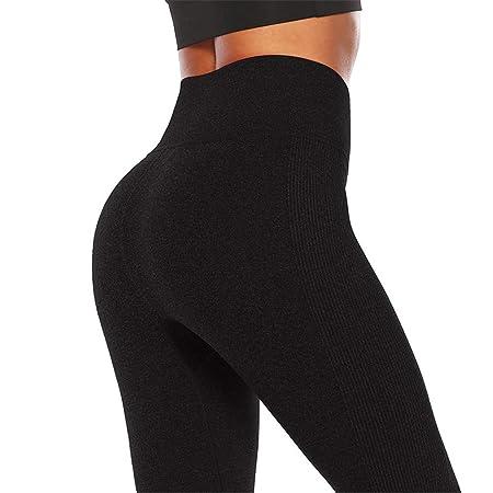 LUCKME Leggings de Yoga para Mujeres, Cintura Alta Pilates ...