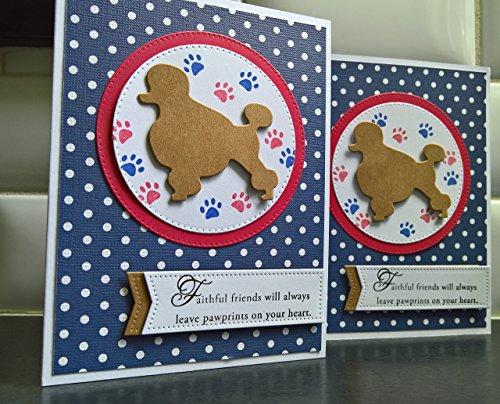 - Pet Loss Greeting Card, Dog Sympathy, Dog Loss , Handmade Sympathy Card, Dog Condolences, Poodle