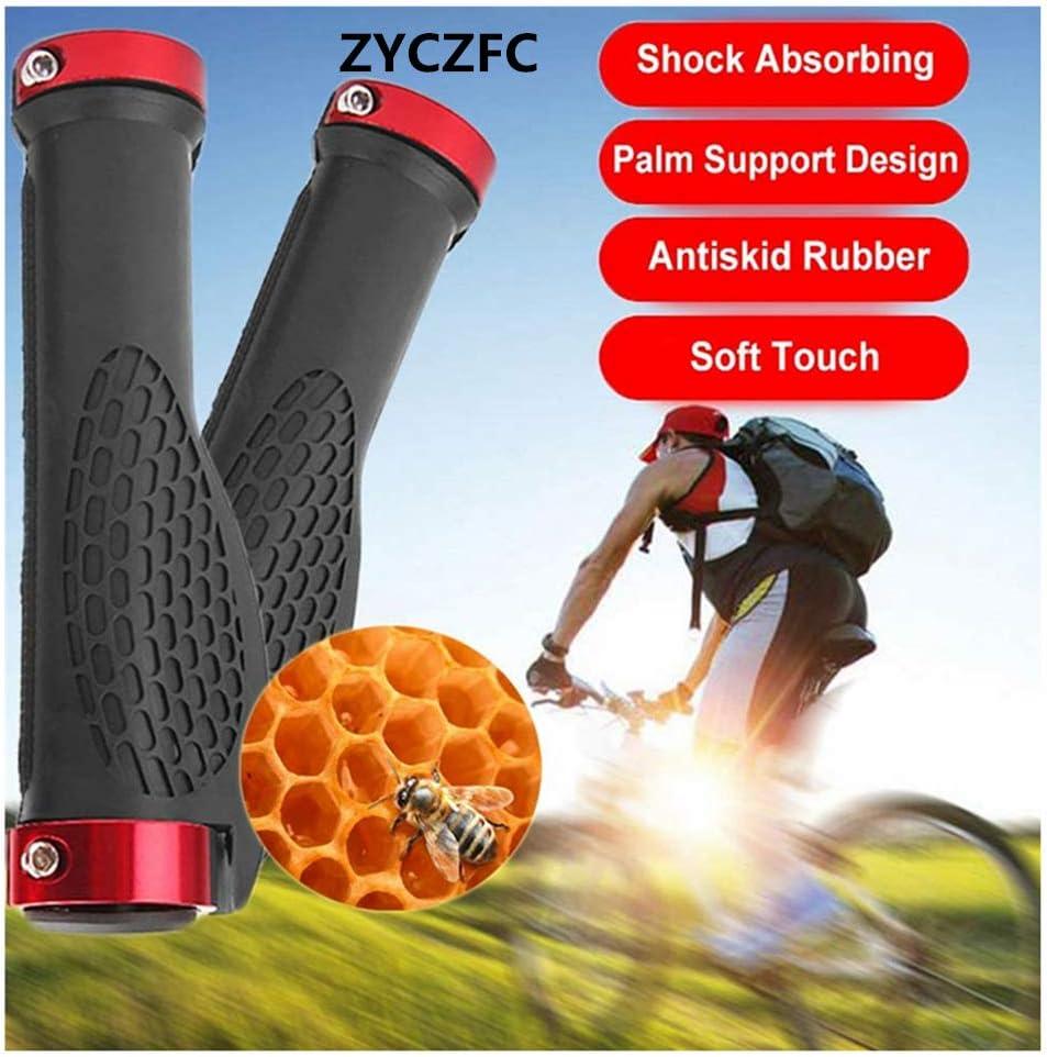 ZYCZFC Bike Grips MTB Shockproof Handlebar for Mountain Bikes Comfortable Non-Slip Bicycle Grips Bike Grips Handbars Ergonomically Designed Bicycle Handlebar