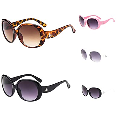 YUYOUG Anti-UV Glasses Cartoon Kids Boys Girls Goggle Baby 8 Color Sunglasses With Bow For For Outdoor Sport,Spring Outing,Family Photo Party Favors Cute Gift Children Sunglasses