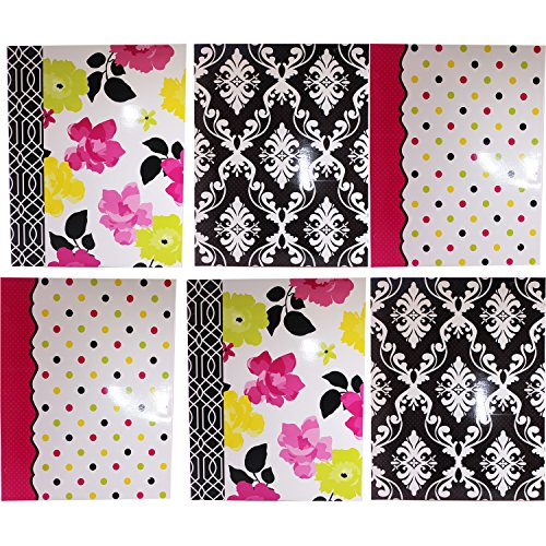 Studio C Fashionista 2 Pocket Folders, 11.75 Inch x 9.5 Inch, Assortment, (Pack of - In Gold Nz Australia Card