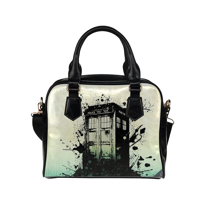 ae31b0a01e33 Angelinana Custom Women s Handbag Doctor Who Tardis 5 Fashion Shoulder Bag