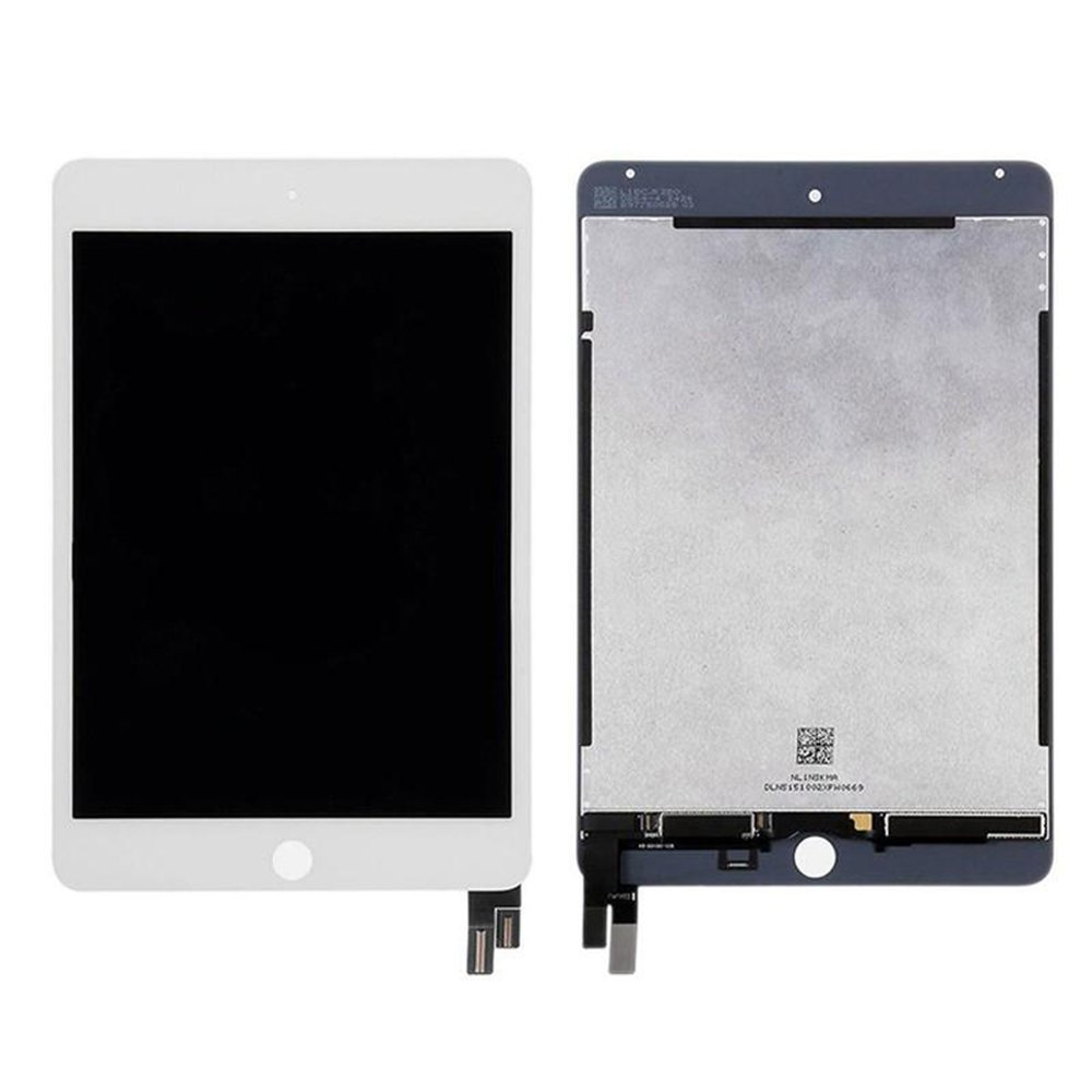 Touch Screen Digitizer and LCD for Apple iPad Mini 4 - A+ - White