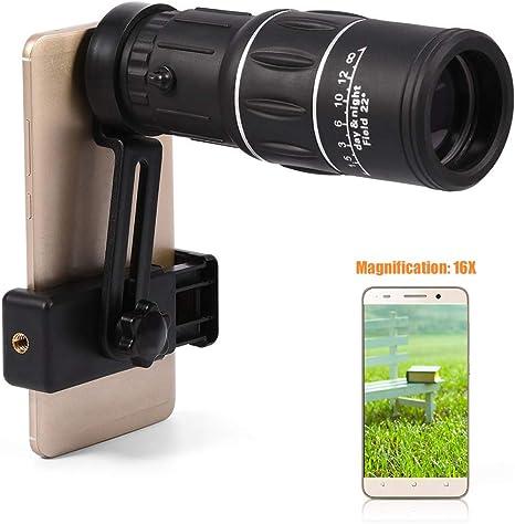 Telescopio monocular HD 16X, Monoculares HD impermeables con ...