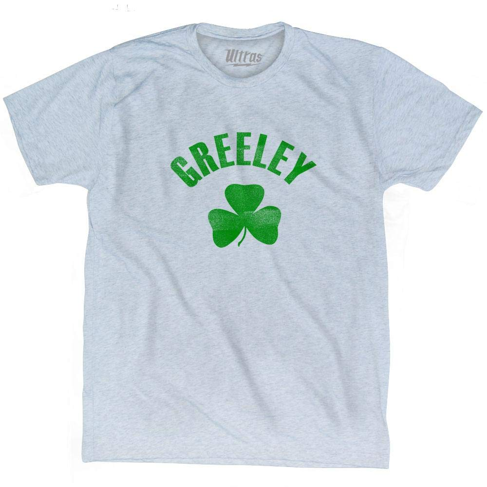 Greeley City Shamrock Tri-Blend T-Shirt
