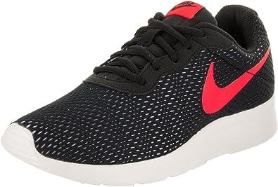 Nike Tanjun Se Zapatillas deportivas, Hombre, Black/Solar Red-Pure Platinum-Sail, 42: Amazon.es: Deportes y aire libre