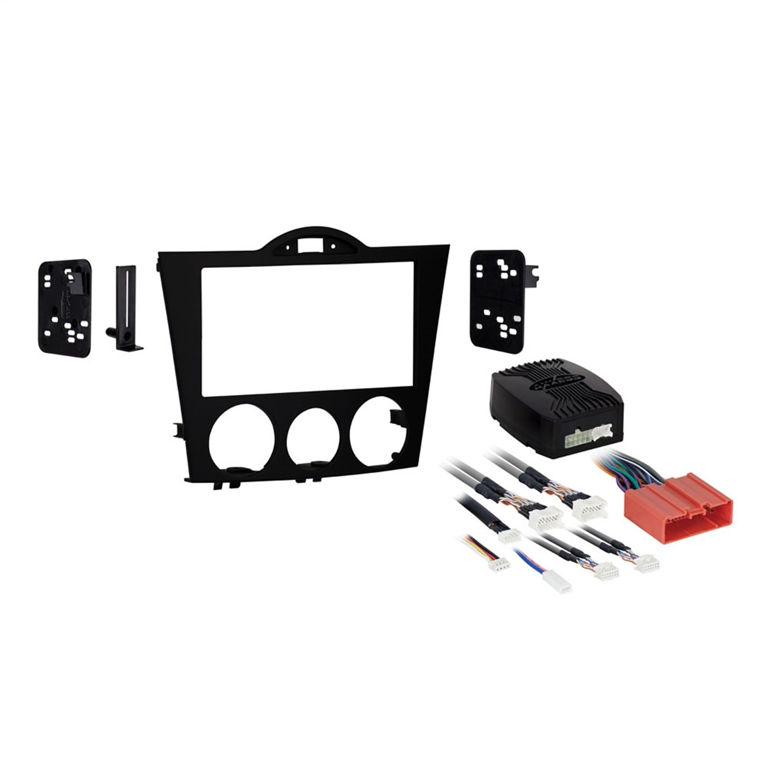 METRA 95-7510 Double DIN Installation Kit for 2004-2008 Mazda RX-8 Vehicles, Black Metra Electronics Corporation