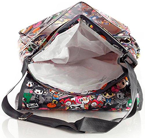 Big Handbag Shop - Bolsa unisex Messenger 825 - Save The Planet