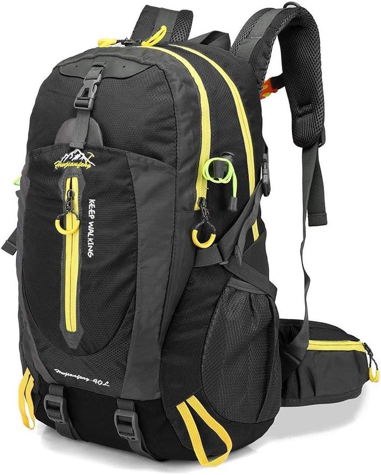 Lixada 40L Resistente al Agua Mochila, Portátil Mochila Trekking, Laptop Daypack, Durable Impermeable, para Escalada, Viajes, Actividades al Aire Libre