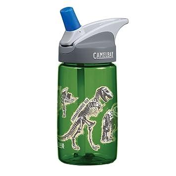 Camelbak – Kids sin BPA botella de plástico verde diseño de dinosaurios – 12 ...