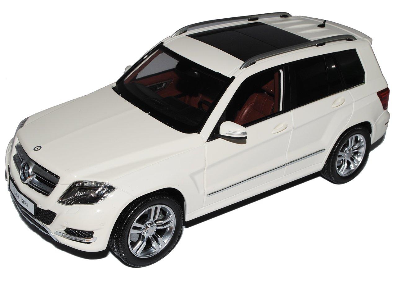 GTA Welly Mercedes-Benz GLK X204 Weiss SUV Ab Facelift 2012 1/18 Modell Auto mit individiuellem Wunschkennzeichen