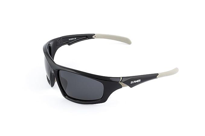 Sunner Gafas de Sol Deportivas Polarizadas SUS639 Súper Lígeras Para Hombre y Mujer Ideal Para Esquiar