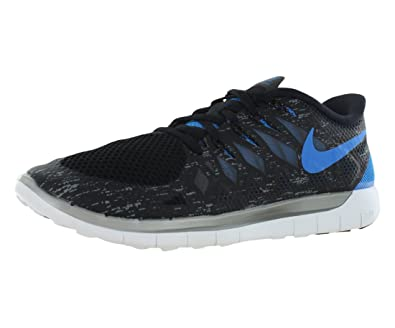 Nike Free 5.0 Premium Mens Running Shoes - Black/Cool Grey/Reflect Silver (