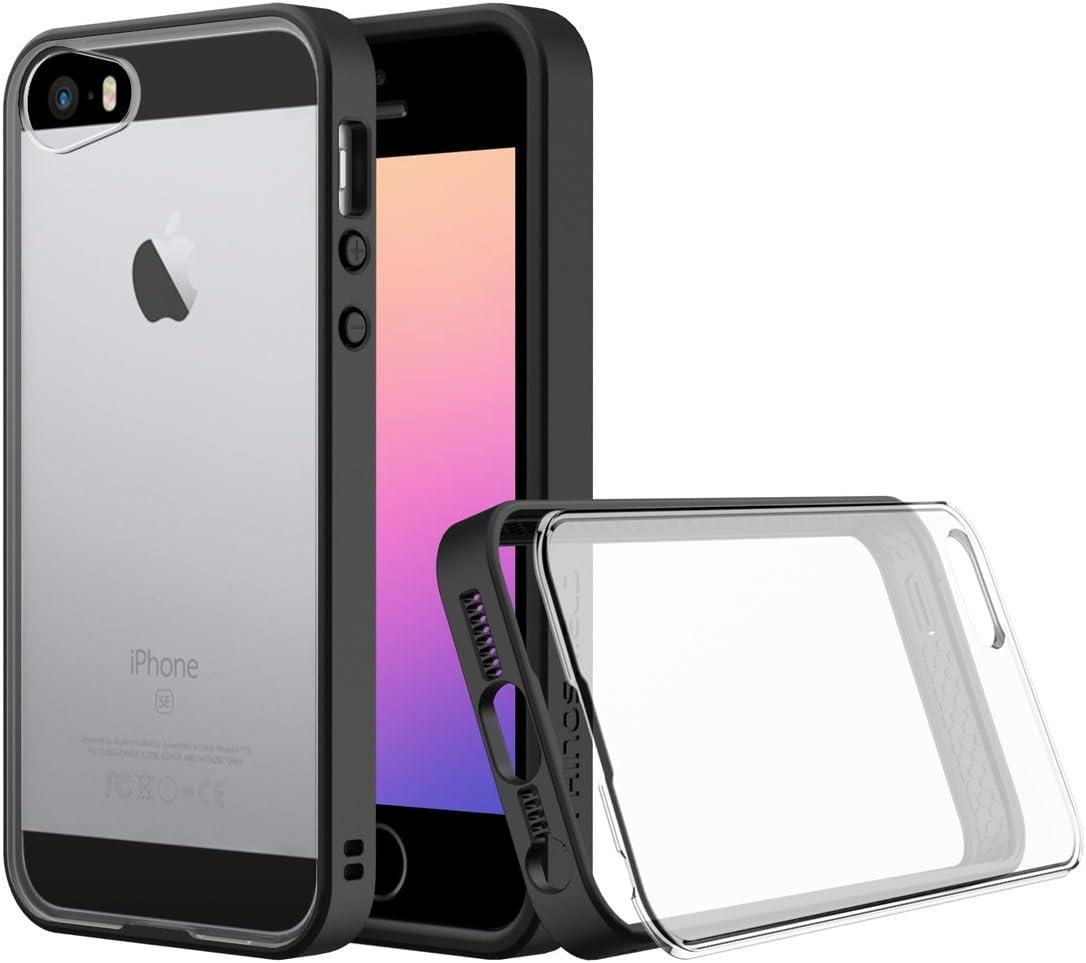 RhinoShield Coque Compatible avec [iPhone 5 / 5s / Se]   Mod - Protection Fine Personnalisable avec Technologie Absorption des Chocs [sans BPA] ...