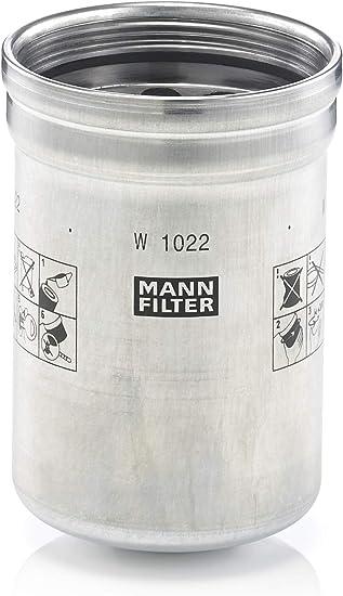 Original Mann Filter W 1022 Schmierölwechselfilter Für Industrie Land Und Baumaschinen Auto