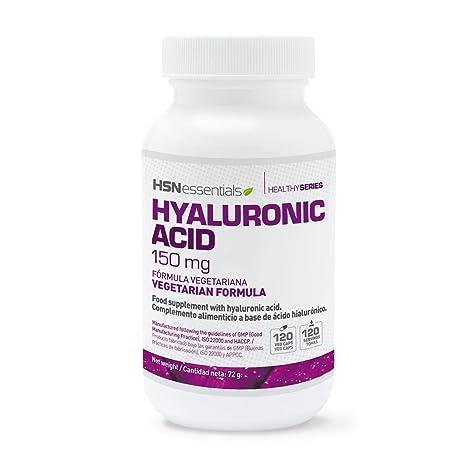 HSN Essentials - Ácido Hialurónico (Sodio Hialuronato) - Salud para Piel, Cartílagos,